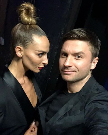 Catherine Barnabas and Sergey Lazarev