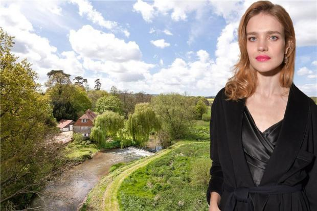 Natalia Vodianova sold a luxury villa in the countryside of England