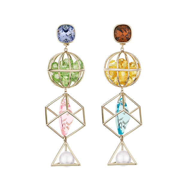 Nostalgia Triple Drop earrings