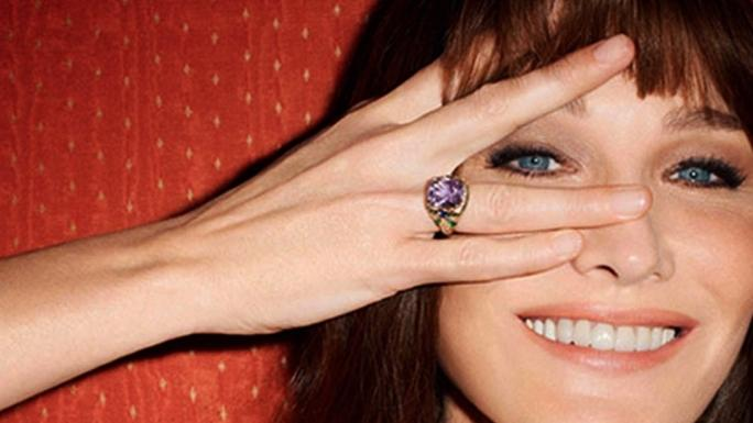 Carla Bruni Sarkozy The Most Important Jewelery A Wedding Ring