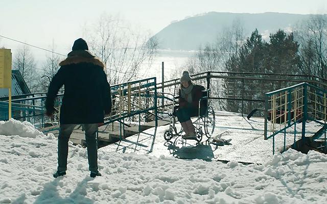 "Still from the film ""Ice"""