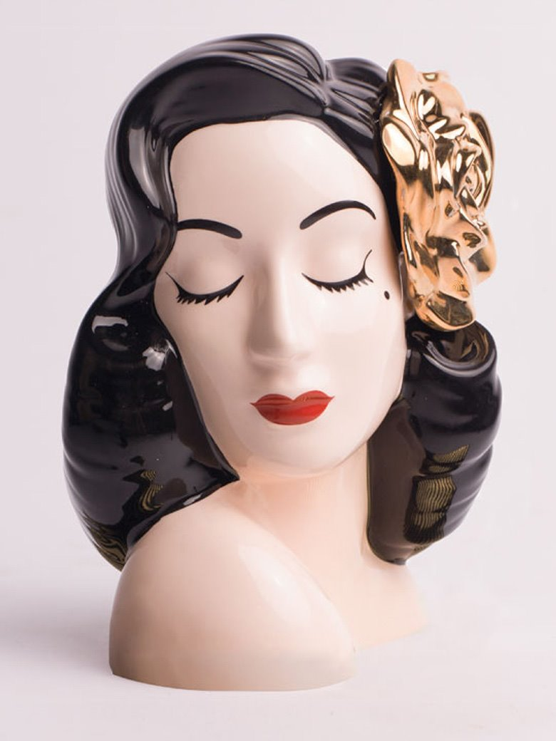 Gilded Rose Glamour Girl Vase from Dita Von Teese