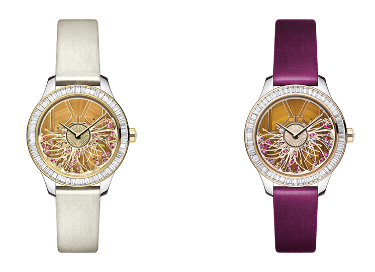 New Dior Horlogerie: Dior Grand Bal Les Jardins watch