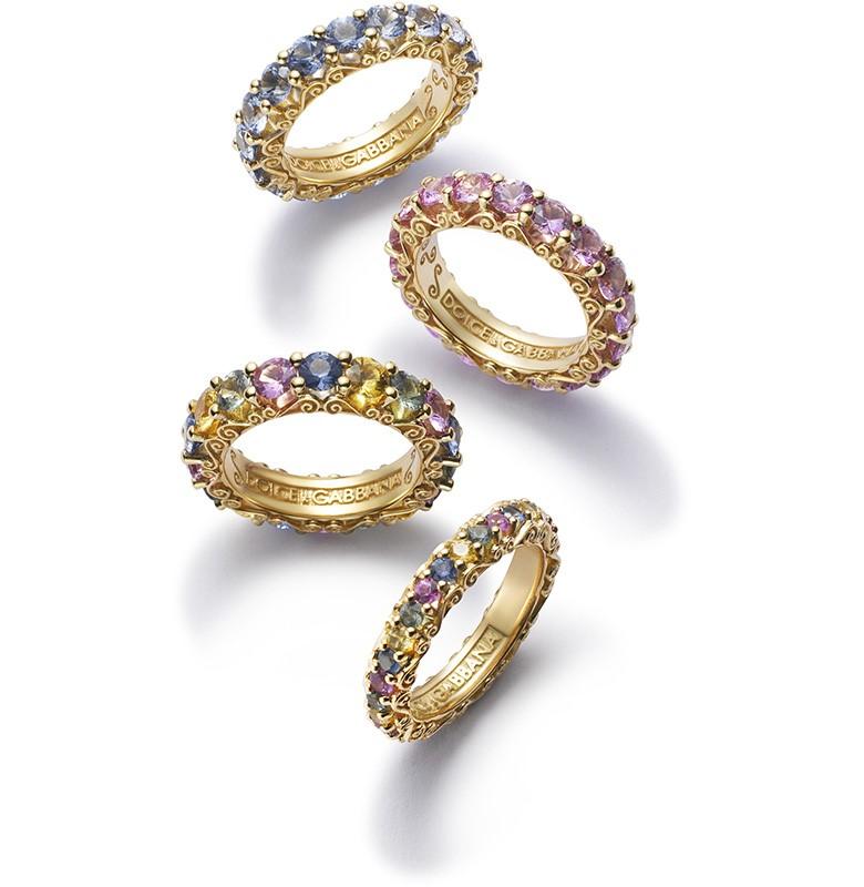 Кольцо из линии Heritage коллекции Dolce & Gabbana Fine Jewellery