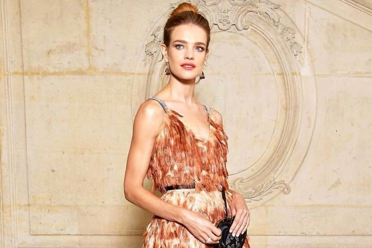 Natalia Vodianova is compared with the actress Romy Schneider