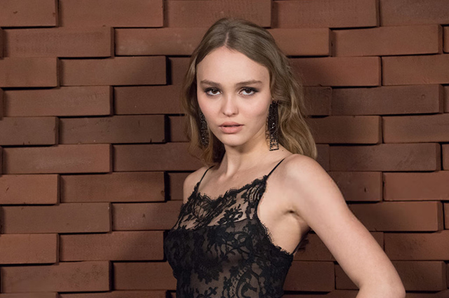 Lily-Rose Depp chose translucent dress to show Chanel Metiers d'Arts