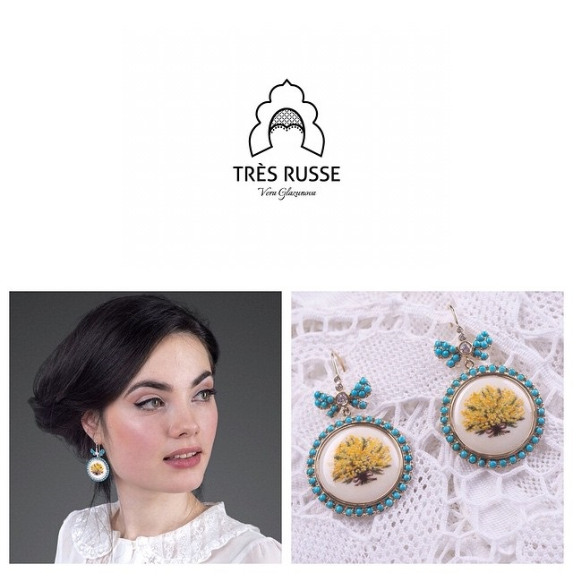 "Famous russian jewelry designer ""Très Russe"""