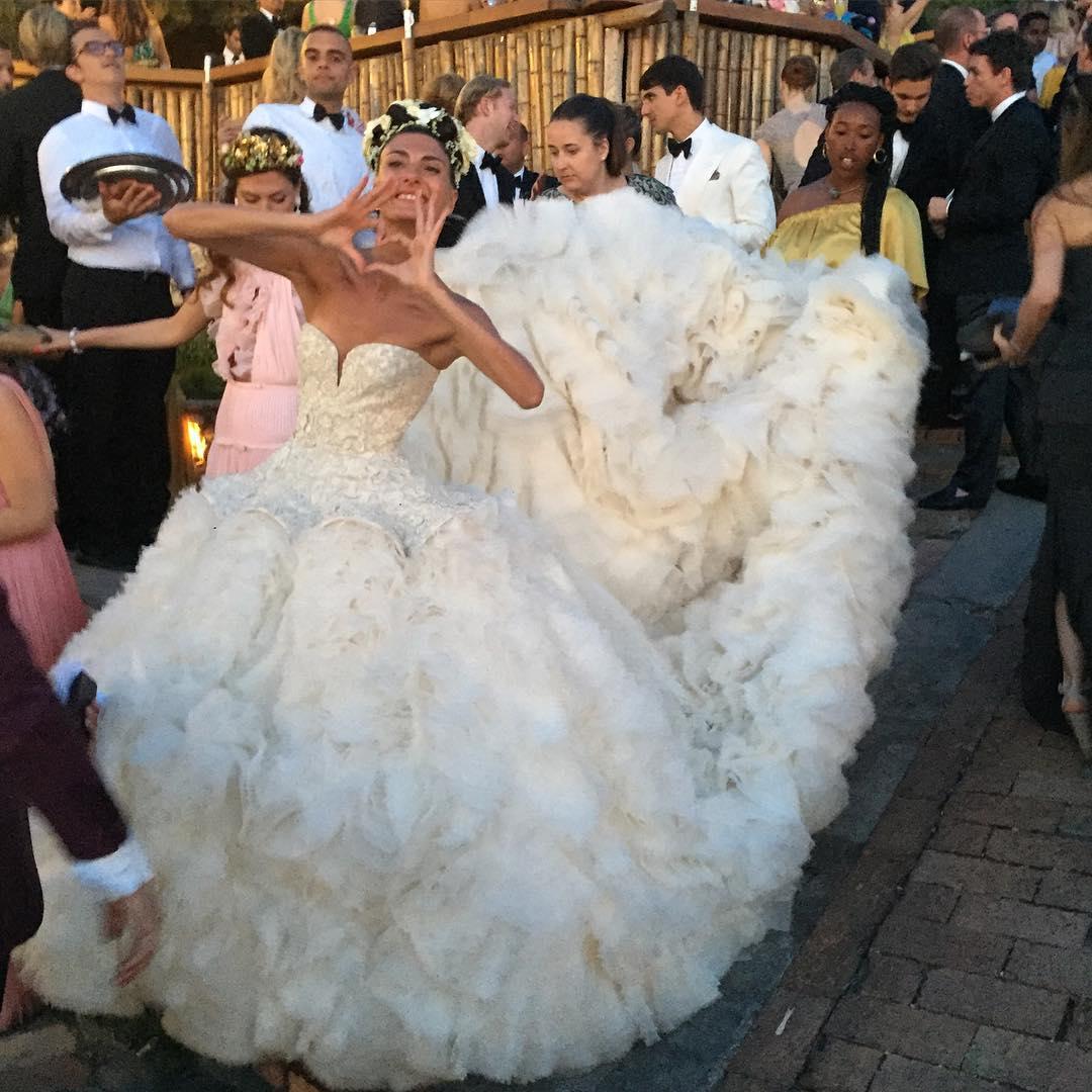 Karen oscar wedding