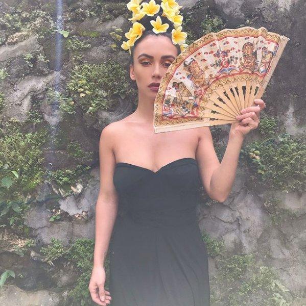 Olga Seryabkina in Bali