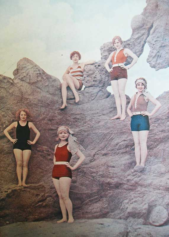 evolution and history of swimsuits