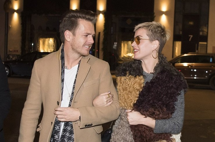 Katy Perry caught in Copenhagen on a date with a stranger
