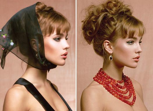 Ulyana Sergeenko and Yana Raskovalova jewelry