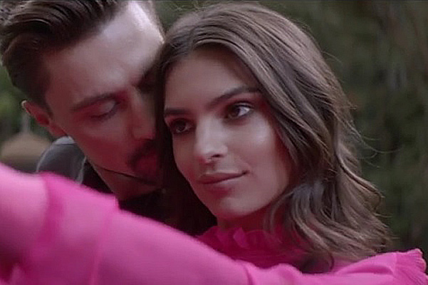 """Inseparable"": Dima Bilan presented a video with Emily Ratajkowski"