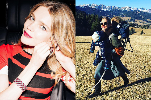 Natalia Vodianova shared a photo of younger children