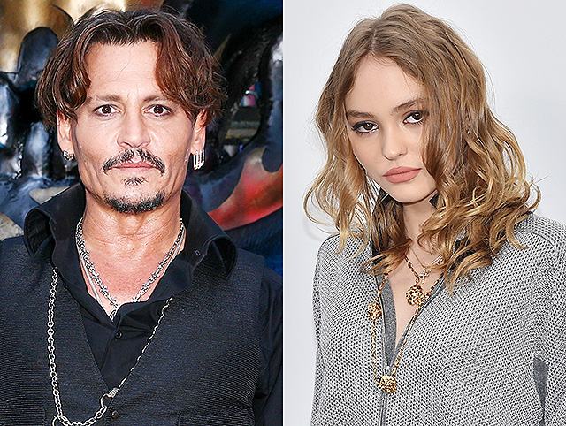 Johnny Depp spoke about the career of his daughter Lily-Rose: