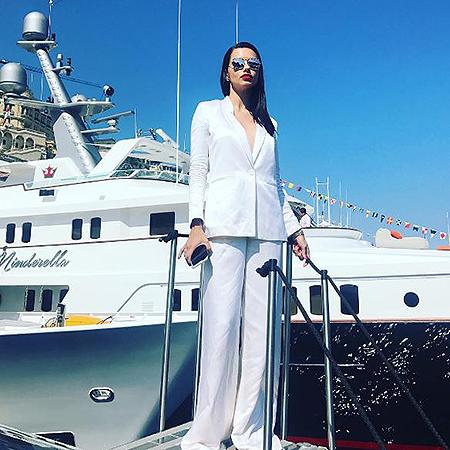 "Адриана Лима на Гран-при ""Формулы-1"" в Монако"
