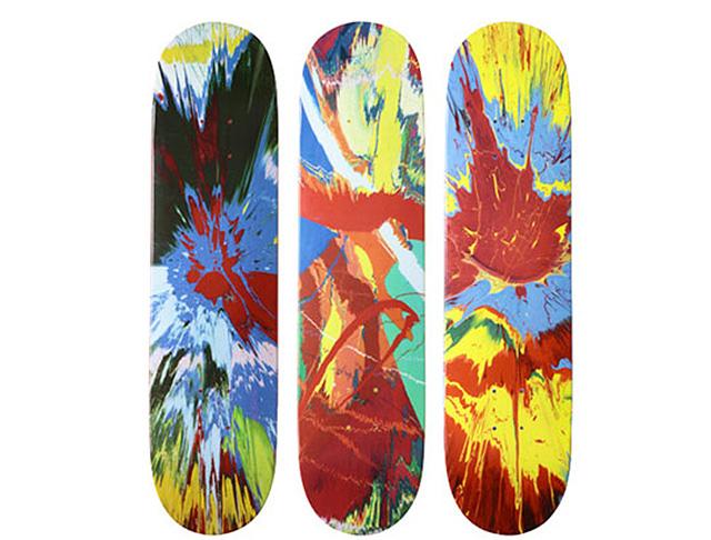 Коллекция скейтбордов Демина Херста для Supreme