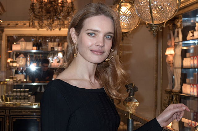 Natalia Vodianova, Isabelle Adjani, Princess Anne de Bourbon-Sicily, and others at the opening of the Café Pouchkine in Paris