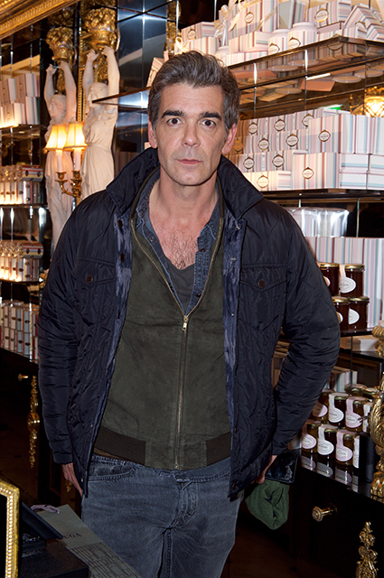 Writer Xavier Moulin