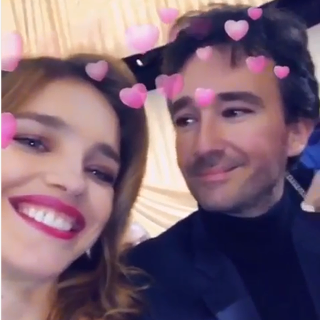 Natalia Vodianova and Antoine Arnault