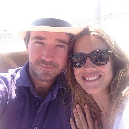 Antoine Arnault and Natalia Vodyanova