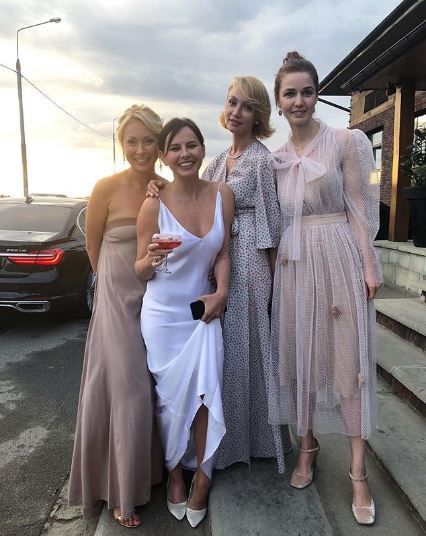 Marina Rudneva, Oksana Lavrentieva, Natalya Dubovitskaya and Alena Akhmadullina