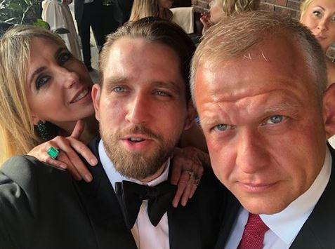 Svetlana Bondarchuk, Alexey Kiselev and Sergey Kapkov