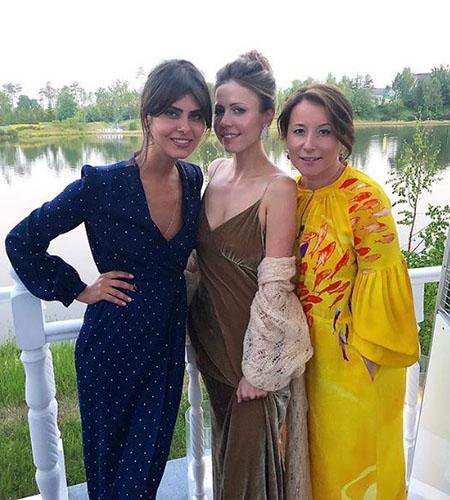 Nadezhda Obolentseva, Polina Yumasheva and Natalya Timakova