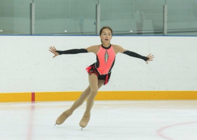 Alina Zagitova in 2014. Photo: © Social network