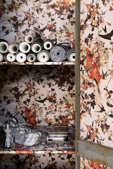 House Of Haute Couture The First Wallpaper Collection By