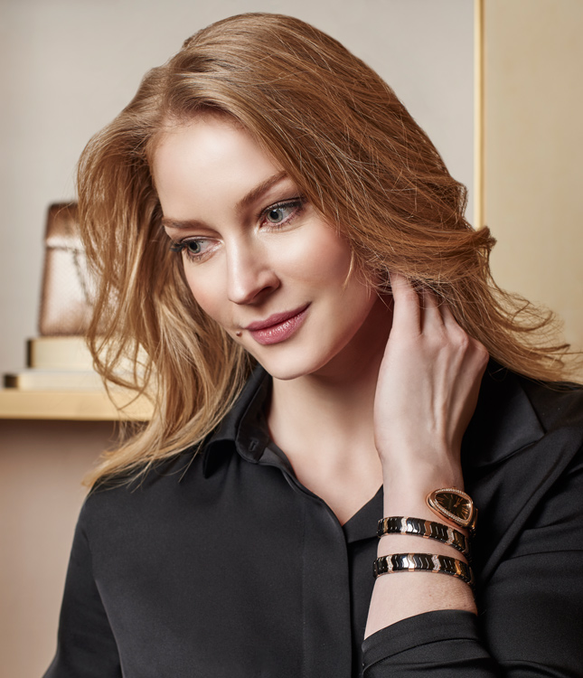 Svetlana Khodchenkova reveals top secrets to wearing jewelry