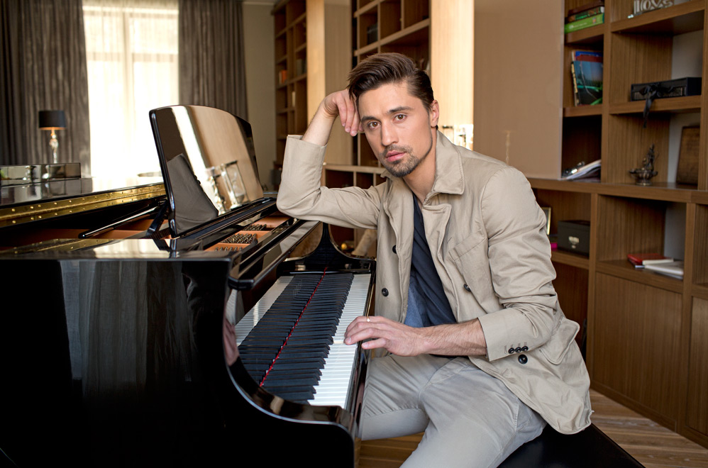 Dima Bilan showed his posh house