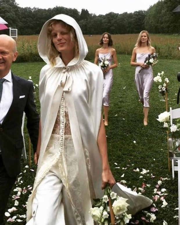 wedding of model hanne gaby odiele