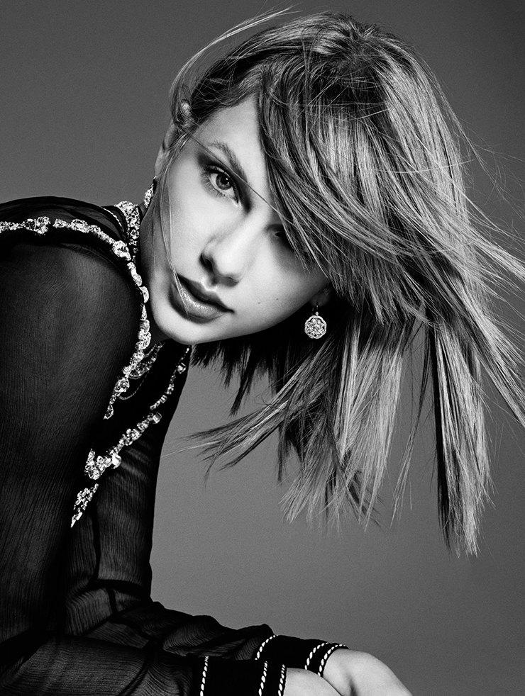 Taylor Swift for Harper's Bazaar Germany in November 2014