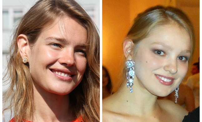 The younger sister of Natalia Vodianova Kristina Kusakina