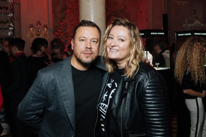 Igor Chapurin and Masha Fedorova