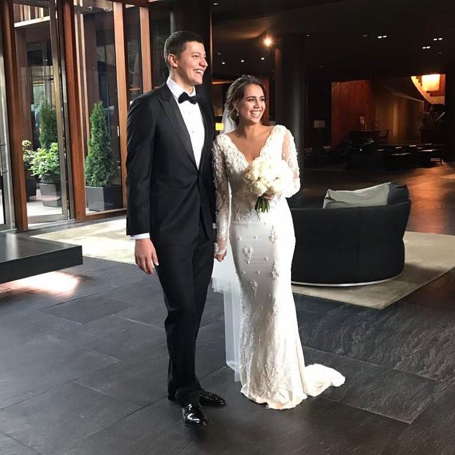 Wedding of Olympic champion Margarita Mamun and Alexander ...