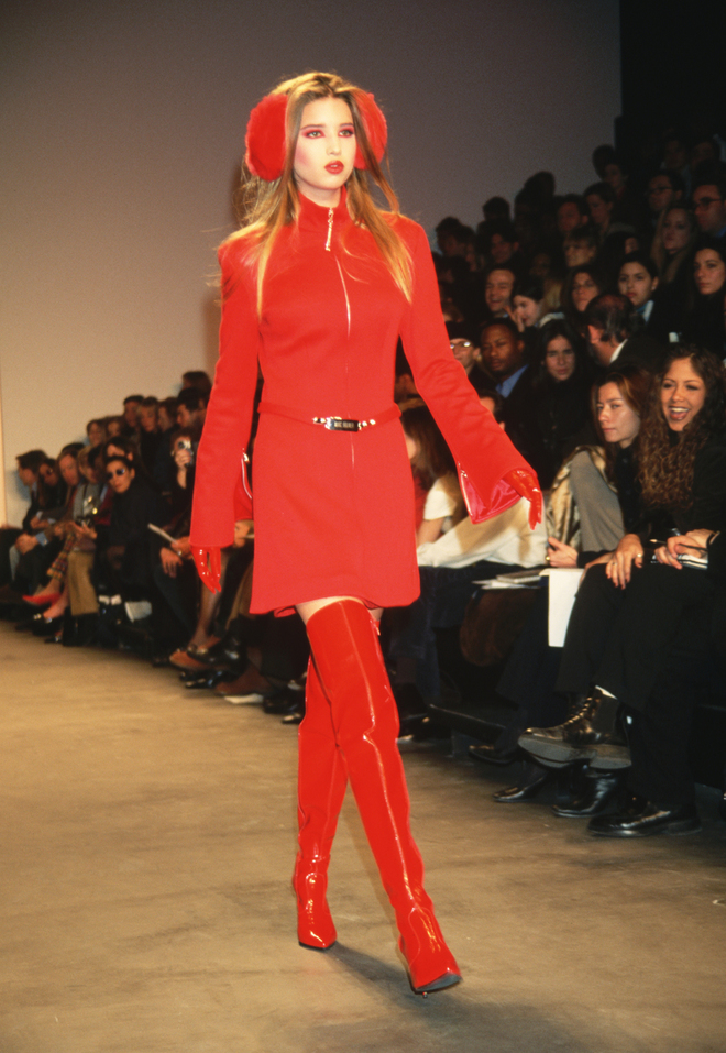 Ivanka Trump at Marc Bouwer, 1997