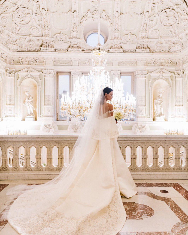 Wedding of Fedor Bondarchuk and Paulina Andreeva in St. Petersburg