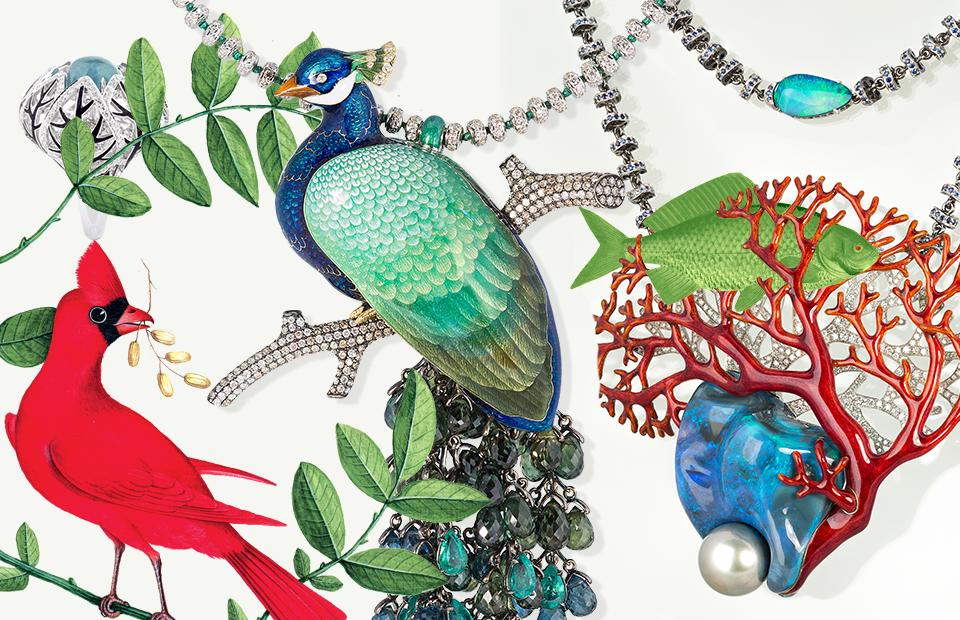 Enamel jewelry by famous Russian jewelry designer Ilgiz F.