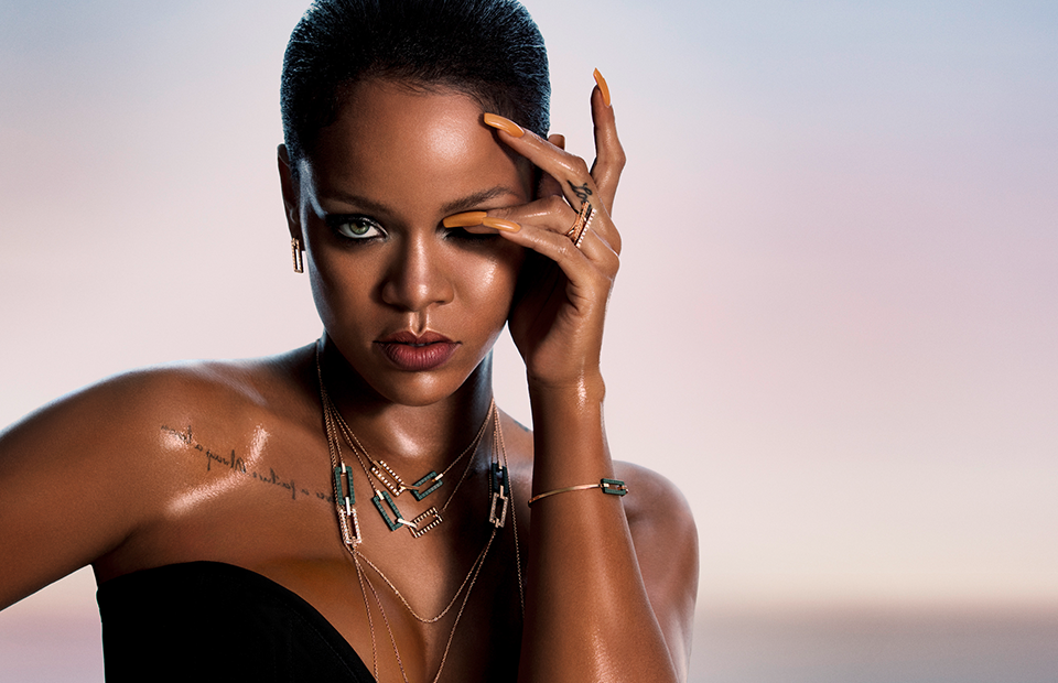 "Rihanna came up with ""loving"" jewelry for Chopard"