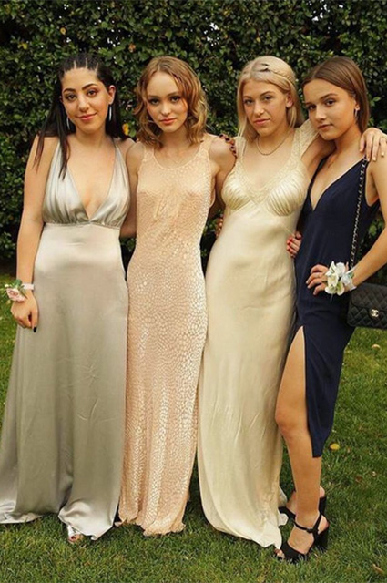 Lily-Rose Depp looked anorexic at prom