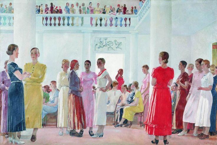 Soviet art and painting
