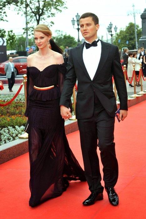 Svetlana Khodchenkova and George Petrishin