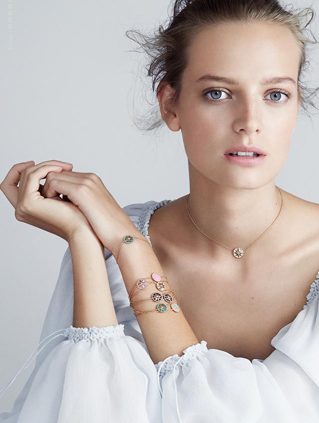 Dior Rose De Vents Necklace