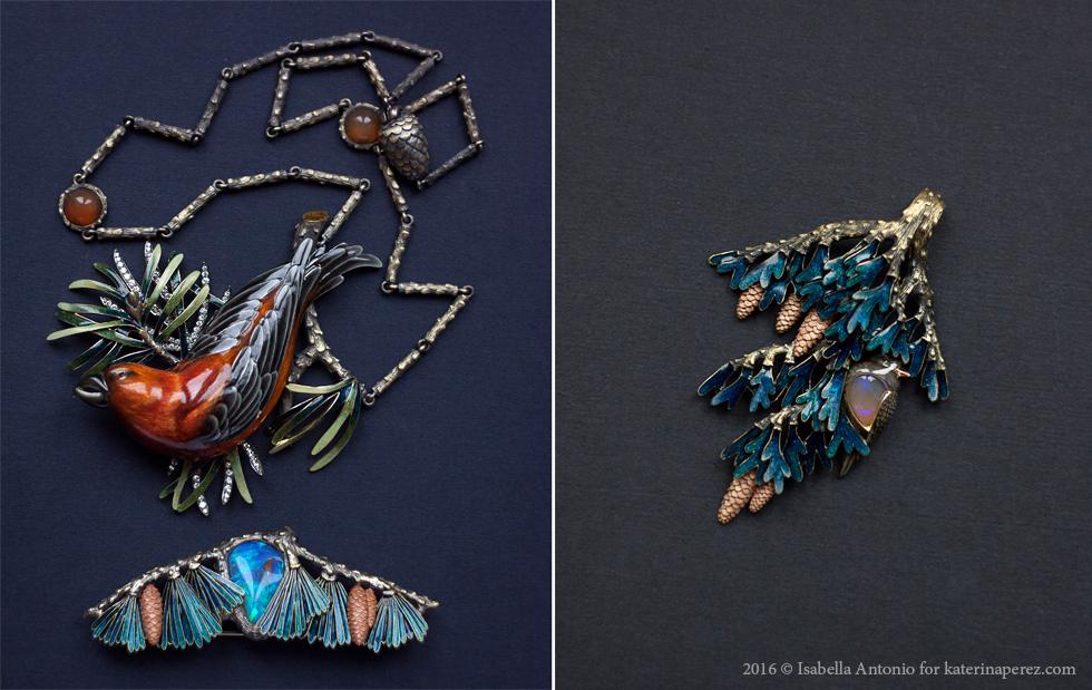 Famous Russian jewelry designer Ilgiz F
