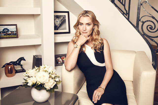 Charity auction: Longines unveils the Flagship Heritage by Kate Winslet timepiece