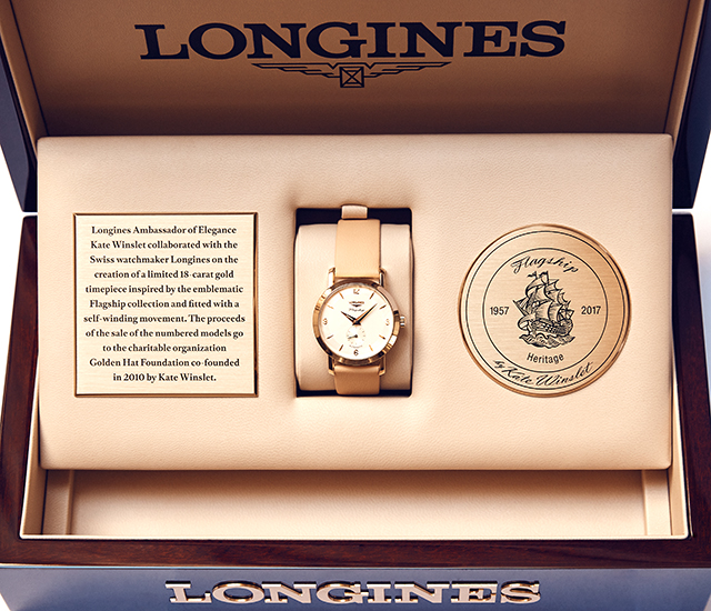 Longines Flagship Heritage by Kate Winslet timepiece
