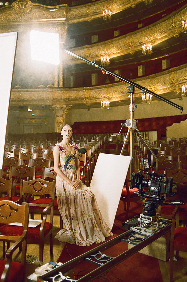 The performances of the Bolshoi Theatre will be shown in cinemas all over the world