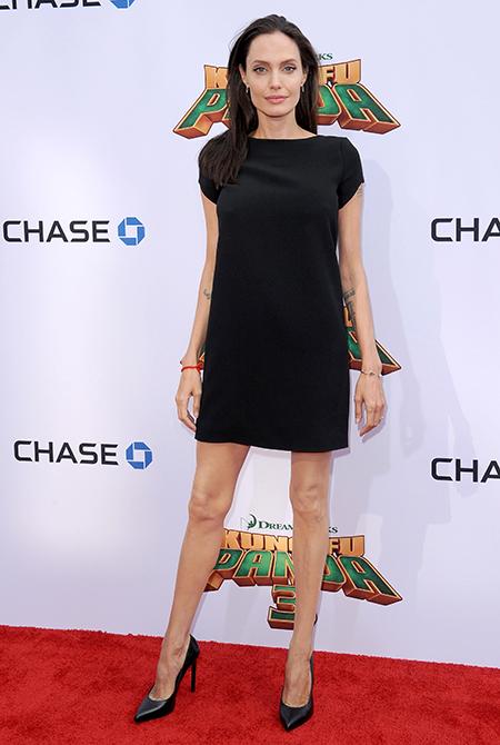 Звезды, которых обвиняли в анорексии: Анджелина Джоли